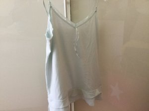 Calvin Klein Homewear, kleines Shirt, blasses Türkis, schön zu Sommershorts