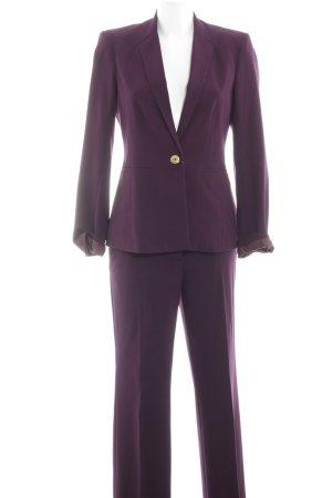 Calvin Klein Broekpak lila zakelijke stijl
