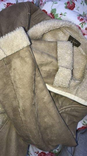 Calvin Klein Abrigo de forro camel-beige