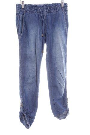 Calvin Klein Jeans 3/4 Jeans stahlblau Casual-Look