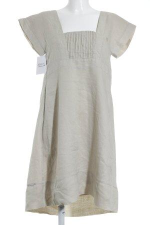 Calvin Klein Jeans A-Linien Kleid hellbeige Casual-Look