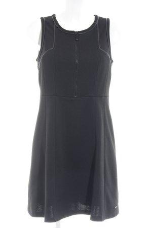 Calvin Klein Jeans A-Linien Kleid schwarz Skater-Look