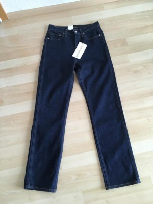 Calvin Klein Jeans High Waist Jeans dark blue cotton