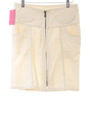 Calvin Klein Jeans Bleistiftrock creme Casual-Look