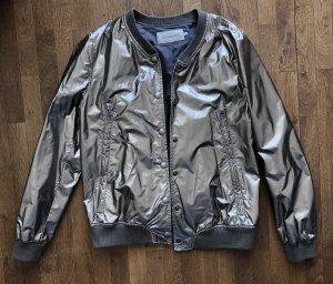 Calvin Klein Jeans Giacca bomber argento