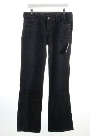 Calvin Klein Jeans Boot Cut Jeans dunkelblau Boyfriend-Look