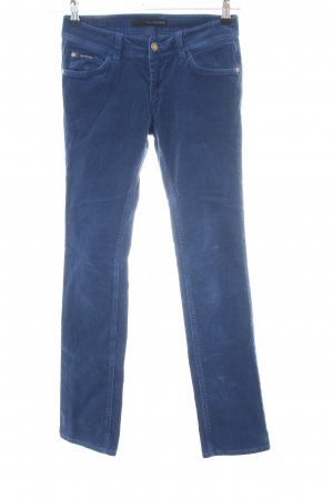Calvin Klein Jeans Cordhose blau Casual-Look