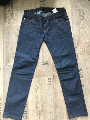 Calvin Klein Jeans Jeans coupe-droite bleu foncé