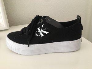 Calvin Klein Jeans Heel Sneakers black