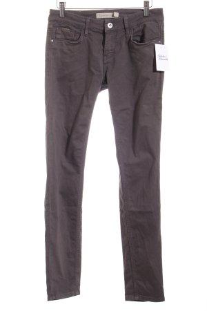 Calvin Klein Jeans Five-Pocket-Hose dunkelgrau Casual-Look