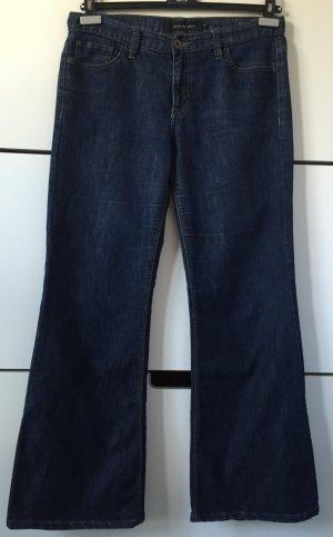 Calvin Klein Jeans Gr.38 US10 Blau blaue Blue Jeans Schlaghose Bootcut wide leg