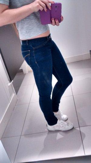 Calvin Klein Jeans Gr W26 L34 Skinny slim dunkelblau röhren denim basic musthave