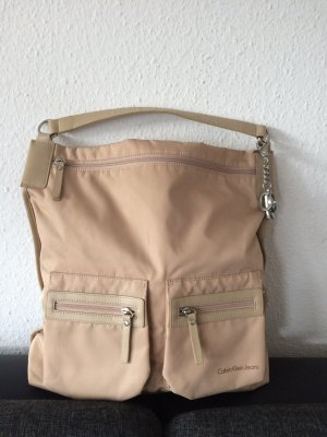 Calvin Klein Jeans Carry Bag beige