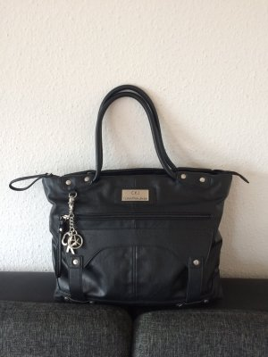 Calvin Klein Jeans Carry Bag black leather