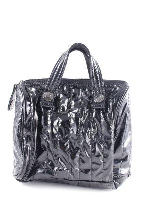 Calvin Klein Jeans Handtasche schwarz Glanz-Optik