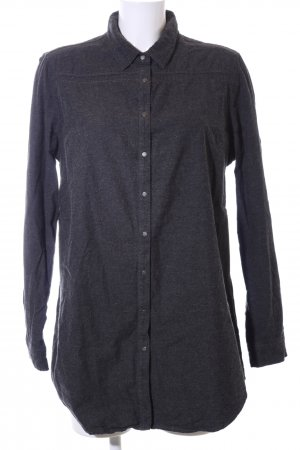 Calvin Klein Jeans Hemd-Bluse schwarz meliert Casual-Look