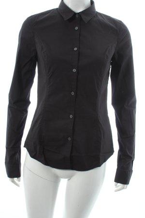 Calvin Klein Jeans Hemd-Bluse schwarz Business-Look
