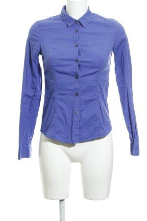 Calvin Klein Jeans Hemd-Bluse stahlblau-grau Business-Look