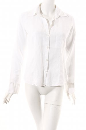 Calvin Klein Jeans Hemd-Bluse weiß Casual-Look