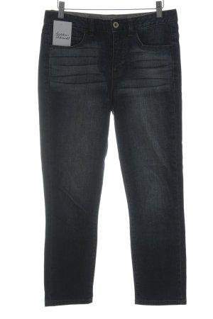 Calvin Klein Jeans High Waist Jeans blau Casual-Look