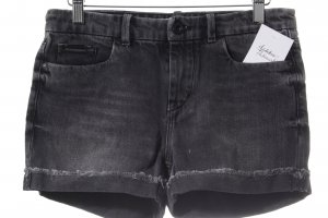 Calvin Klein Jeans Hot Pants schwarz Washed-Optik