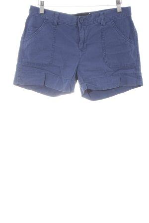 Calvin Klein Jeans Hot Pants stahlblau 60ies-Stil