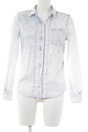 Calvin Klein Jeans Jeanshemd himmelblau-blassblau Farbverlauf Jeans-Optik