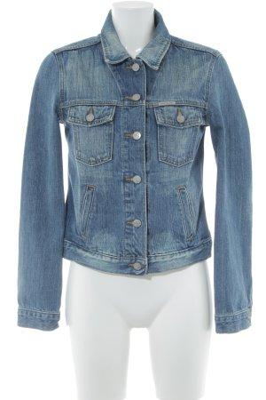 Calvin Klein Jeans Jeansjacke dunkelblau-blassblau Casual-Look
