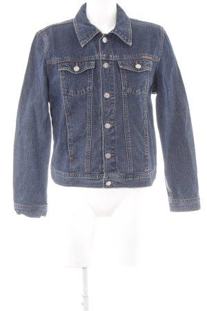 Calvin Klein Jeans Jeansjacke dunkelblau-graublau Casual-Look