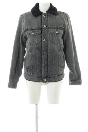 Calvin Klein Jeans Jeansjacke grau Casual-Look