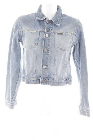 Calvin Klein Jeans Jeansjacke hellblau Casual-Look