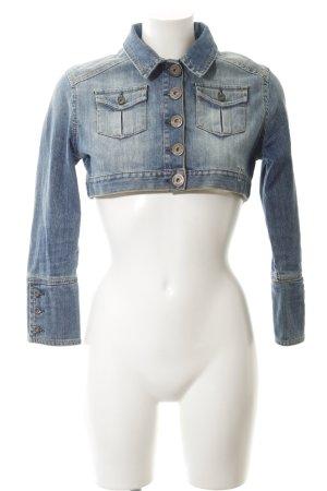 Calvin Klein Jeans Jeansjacke himmelblau-neonblau Casual-Look