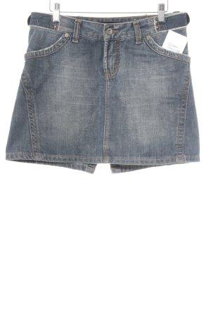 Calvin Klein Jeans Spijkerrok lichtblauw-blauw casual uitstraling