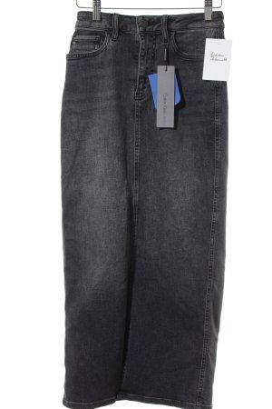 Calvin Klein Jeans Jeansrock dunkelgrau Jeans-Optik