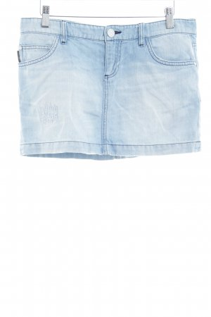 Calvin Klein Jeans Jeansrock hellblau Casual-Look