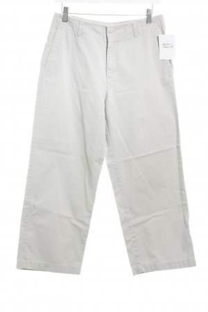 Calvin Klein Jeans Vaquero acampanados crema look casual