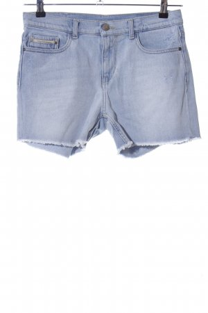 Calvin Klein Jeans Jeansshorts blau Casual-Look