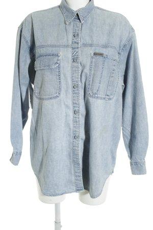 Calvin Klein Jeans Jeansweste kornblumenblau Boyfriend-Look