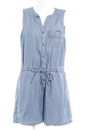 Calvin Klein Jeans Jumpsuit blau Jeans-Optik