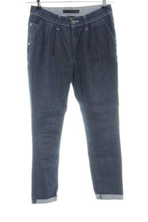 Calvin Klein Jeans Vaquero estilo zanahoria azul look casual