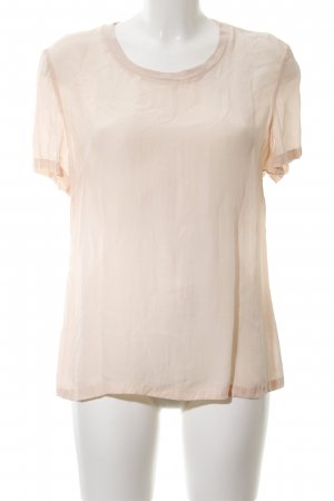 Calvin Klein Jeans Kurzarm-Bluse creme Casual-Look