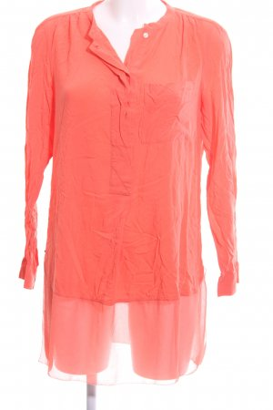 Calvin Klein Jeans Long-Bluse hellorange Casual-Look