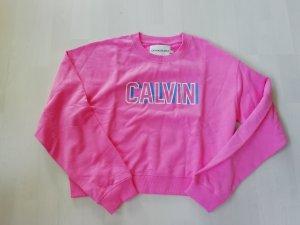 Calvin Klein Jeans Pulli Pullover Sweatshirt Sweat Sweater Cropped Crop