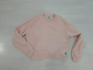 Calvin Klein Jeans Pulli Pullover Sweatshirt Sweat Sweater Rose