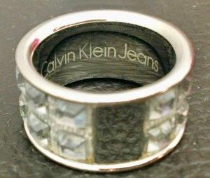 Calvin Klein Zilveren ring zilver