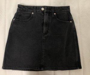 Calvin Klein Gonna di jeans nero-antracite
