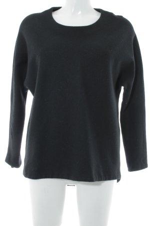 Calvin Klein Jeans Rundhalspullover schwarz Casual-Look