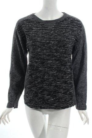 Calvin Klein Jeans Rundhalspullover Webmuster Street-Fashion-Look