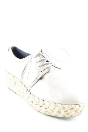 Calvin Klein Jeans Schnürschuhe sandbraun-beige Beach-Look