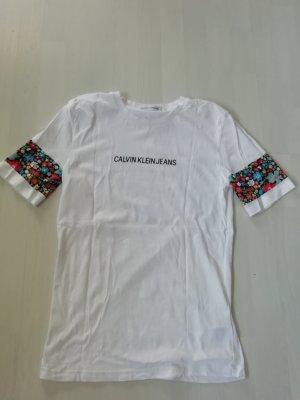 Calvin Klein Jeans Shirt T-Shirt Floral geblümt
